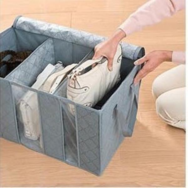 Large Capacity Clothes Storage Bag Bamboo Charcoal Fiber