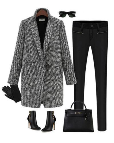 Elegant Thicken Winter Cotton Warm Coats