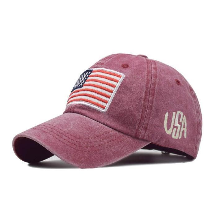 American Flag Baseball Cap USA Flag Trucker Hat
