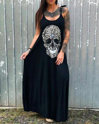 Cotton-Blend Vintage A-Line Dresses