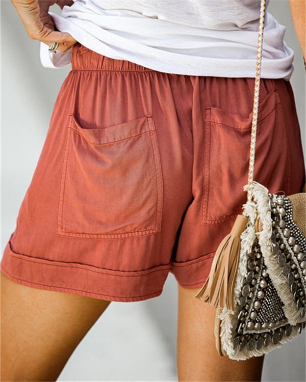Womens Casual Loose Shorts Pants