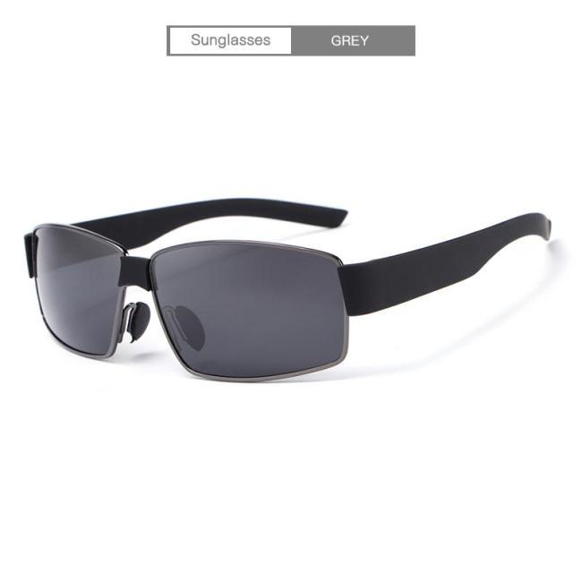 Fashion UV400 Driver Polarized  Vintage Pilot Sun Glasses With Box