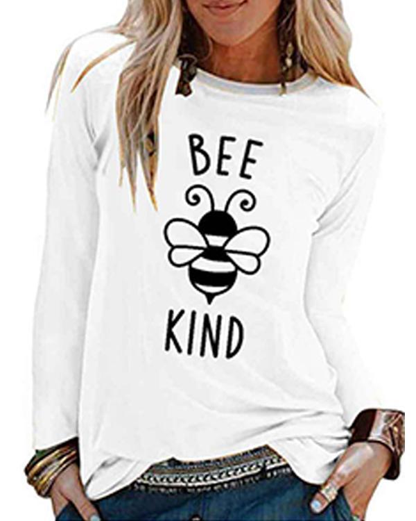 Casual Printed Plain Long Sleeve Shirts & Tops