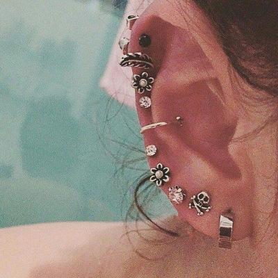 Jewelry-Punk Earrings Sets