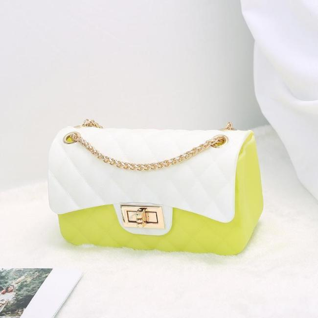 Fashion Color Chain Shoulder Bag