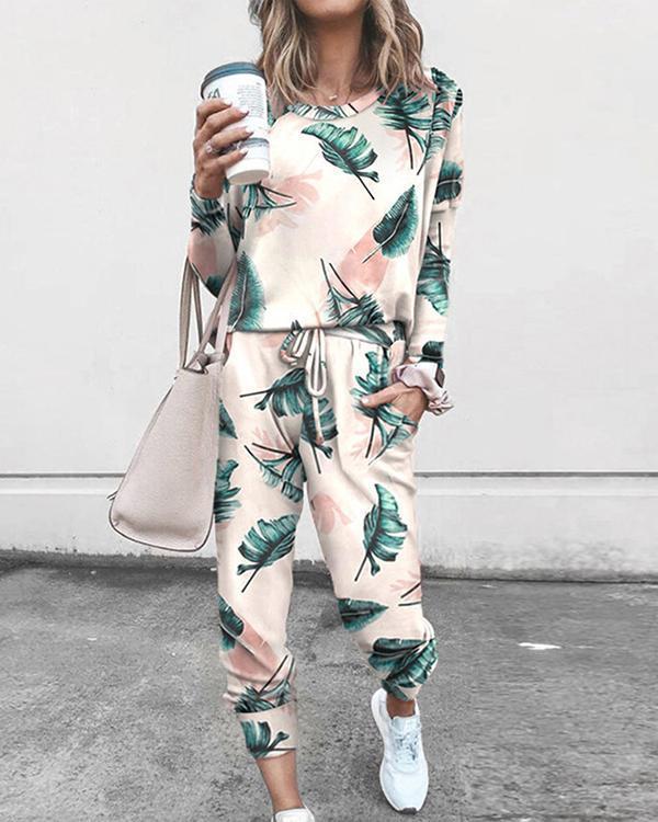 2 Peice Set Women Elegant Pants Sets Female Casual Outfits Jogger