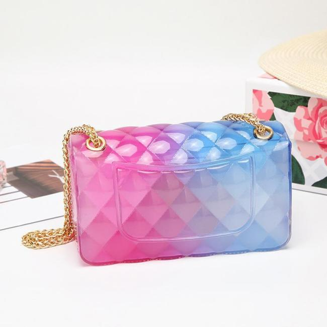 Fashion Clear Chain Shoulder Bag