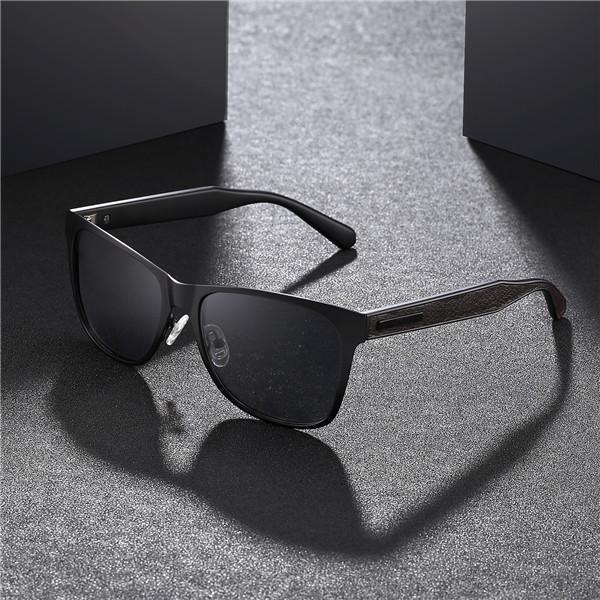 Polarized Fashion Vintage Pilot Sun Glasses With Box