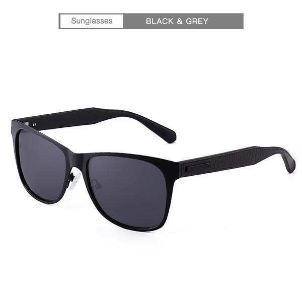 Polarized Fashion Vintage Pilot Sun Glasses With Box