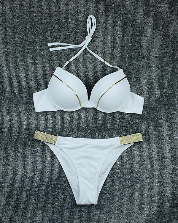 Sexy Split Bikini Swimsuit