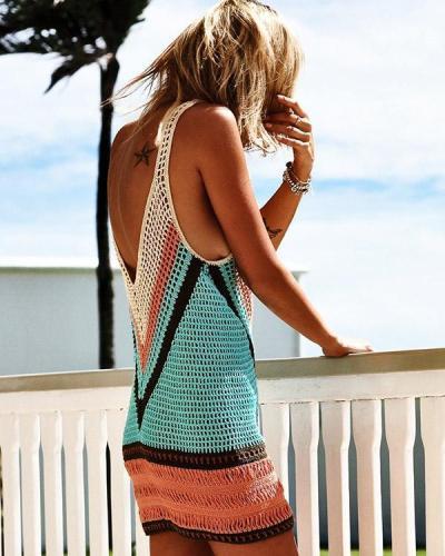 Gini Swimsuit Beach Vest Sun Protection Dress