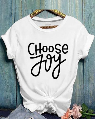 Lovely Casual Letter Print T-shirt