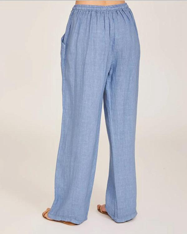 Womens Loose Casual Leisure Pants
