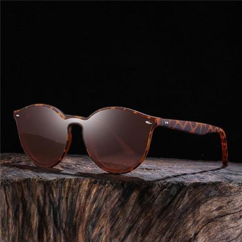 Unisex Dazzling Polarized Fashion Vintage Sunglasses With Box