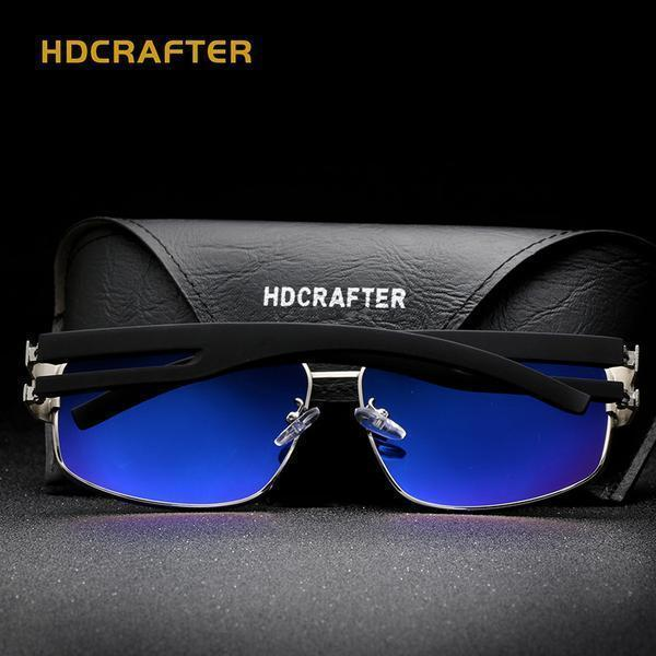 Sunglasses - Fashion Polarized Driving Men's Sunglasses + Original Box