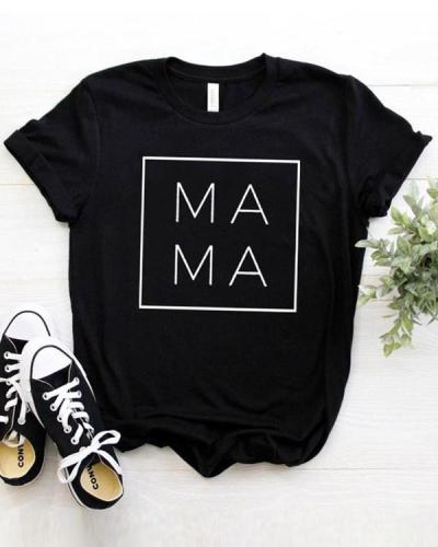 Square Women T-shirt 2020 Cotton Casual Funny T shirt Gift For Lady Young Girl