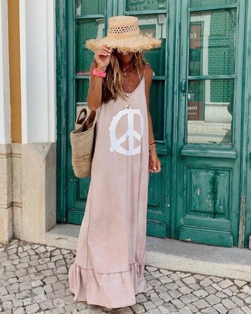 Summer Sleeveless Maxi Dress