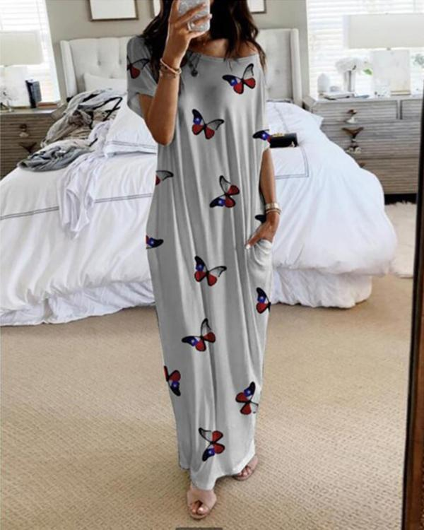 Loose Casual Large Size Cotton Dress