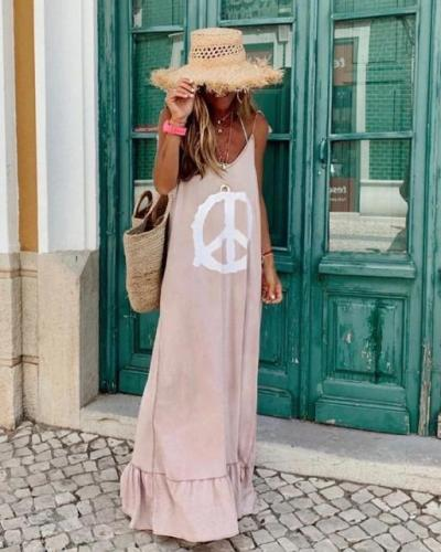 Summer Sleeveless Maxi Dress
