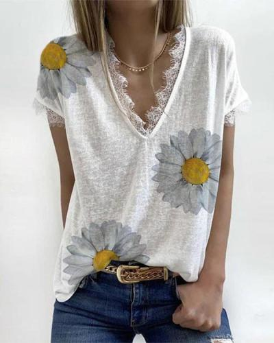 White Short Sleeve Shirts & Tops