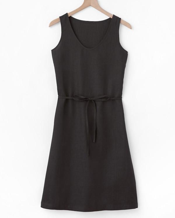 Essential Linen Tank Dress