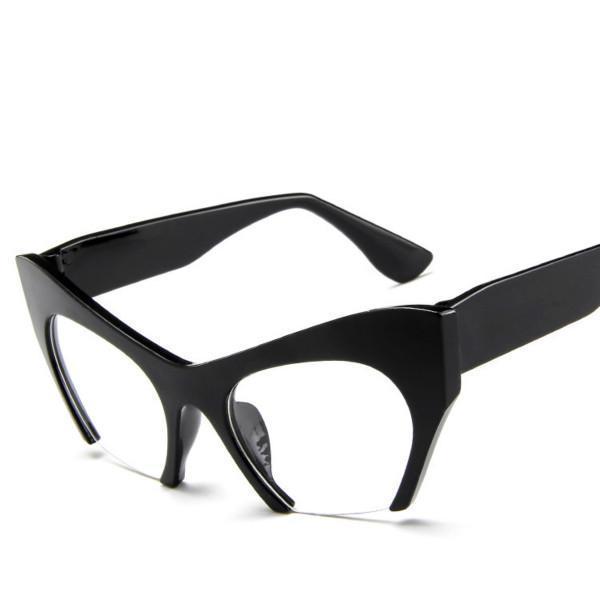 Sunglasses - Fashion Semi-Rimless Glasses