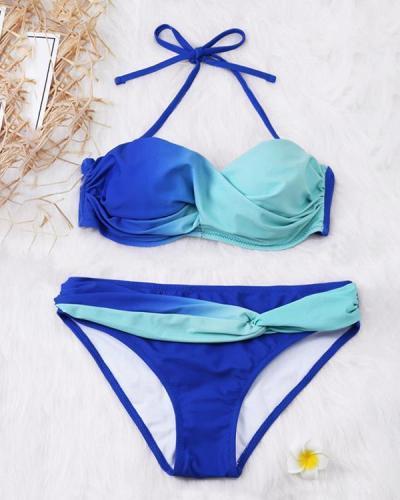 Tie Dye Bikini Swimwear