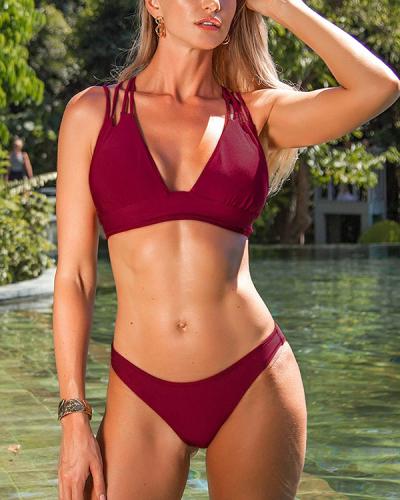 Get Strappy Bikini Set