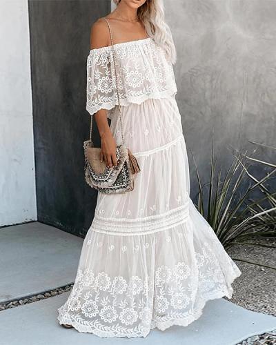 Women's Swing Dress Maxi long Dress