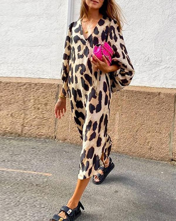 Wild Woman Leopard Print Dress
