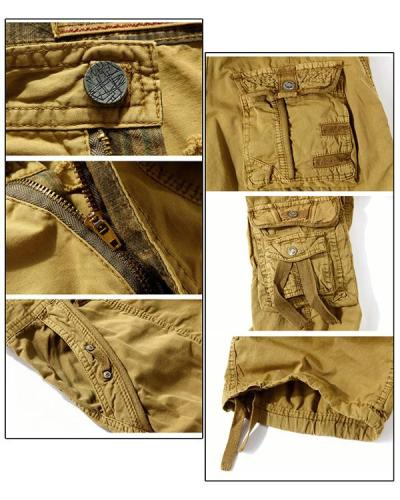 Plus Size Men's Loose Work Casual Shorts