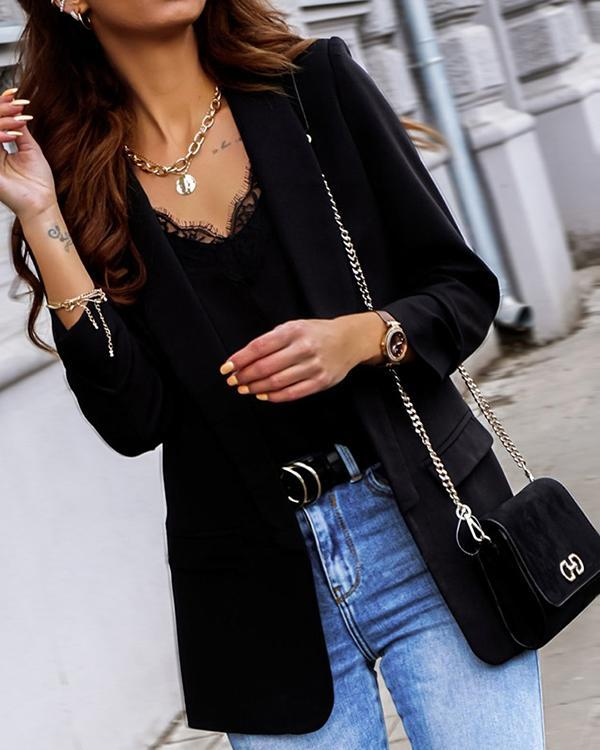 Autumn Fashion Women Blazer