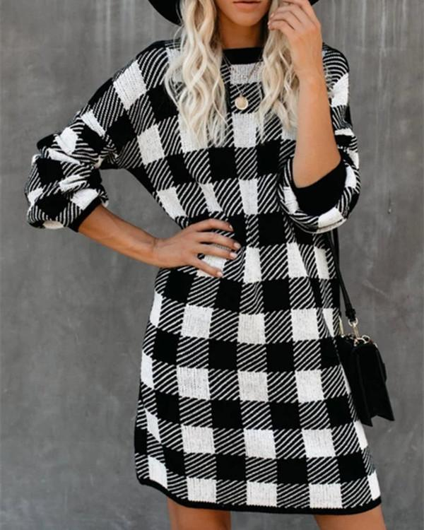Printed Cotton-Blend Casual plus size Dresses