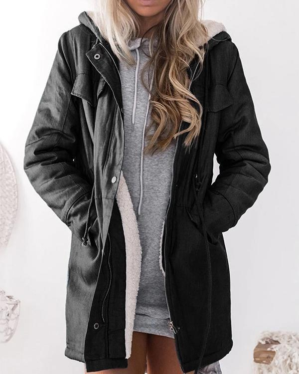 Women's Long Sleeve Hooded Jacket