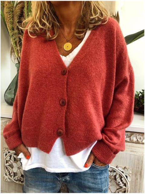 Winter Knitted Blend Casual Long Sleeve Sweater
