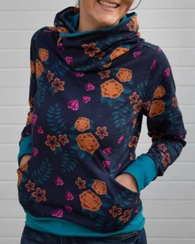 Spring Winter New Women's Hooded Sweater
