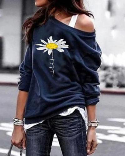 Women One Shoulder Stylish Women Daily Fashion Fall Tops