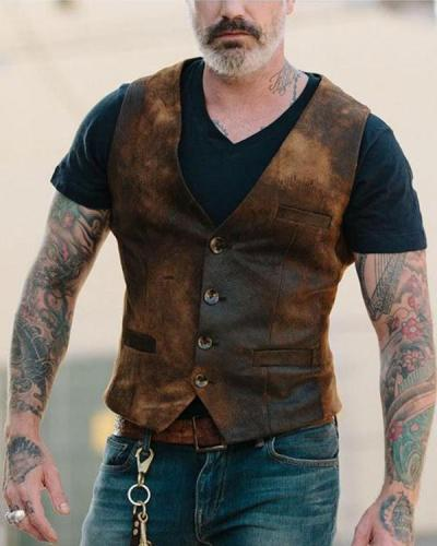 2020 New Dress Vests Men Slim Fit Mens Suit Vest Business Jacket