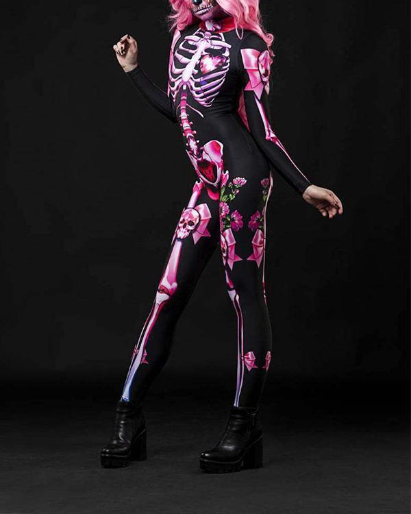 Halloween Women Sexy Costume Jumpsuit