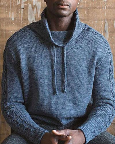 Men's Pullover Knitting Sweater