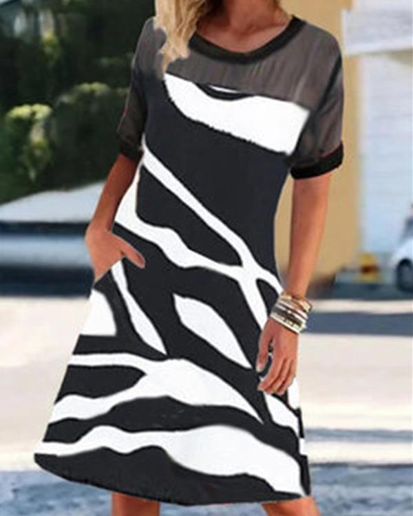 Fashion Casual Mini Dress