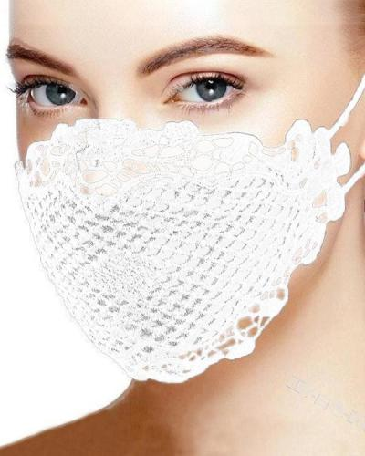 Lace Breathable Accessory Face Mask
