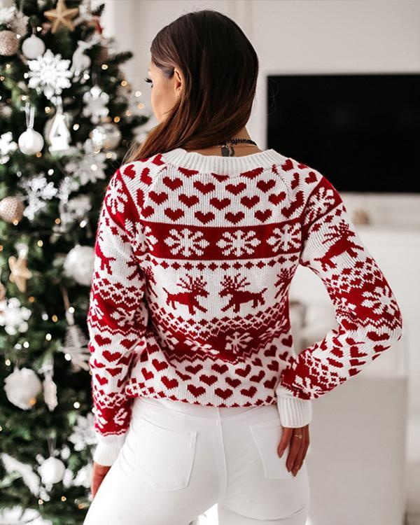 Women Christmas Plus Size Holiday Sweater