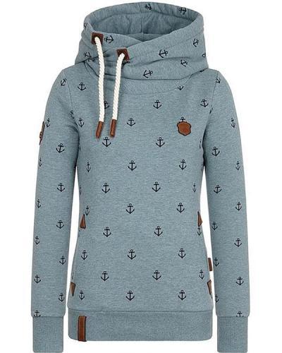 Patchwork Cotton-Blend Casual Hoodie Sweatshirt