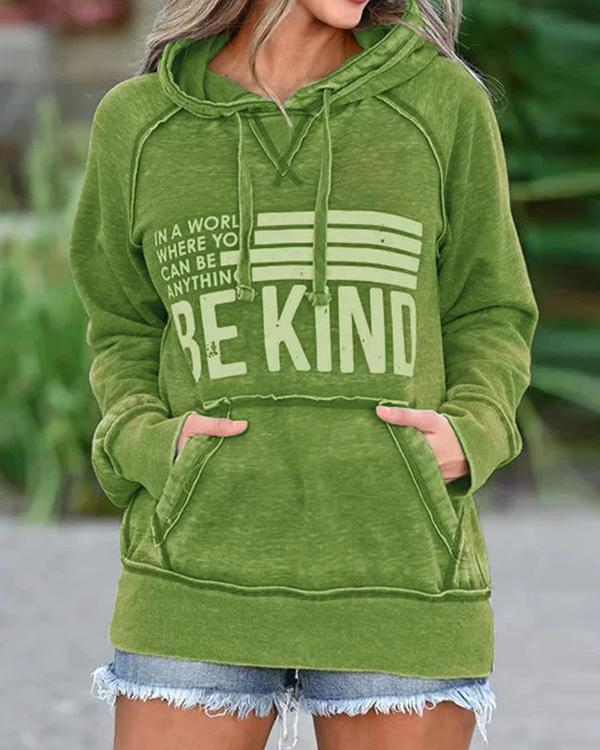 Cotton-Blend Casual Printed Sweatshirt