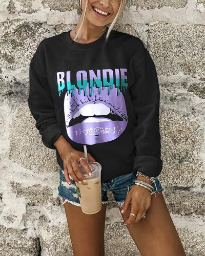 Women's Fashion Graphic Cozy Sweatshirt(4 Patterns)