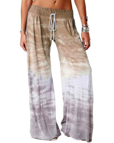 Women's Loose Gradient Pants