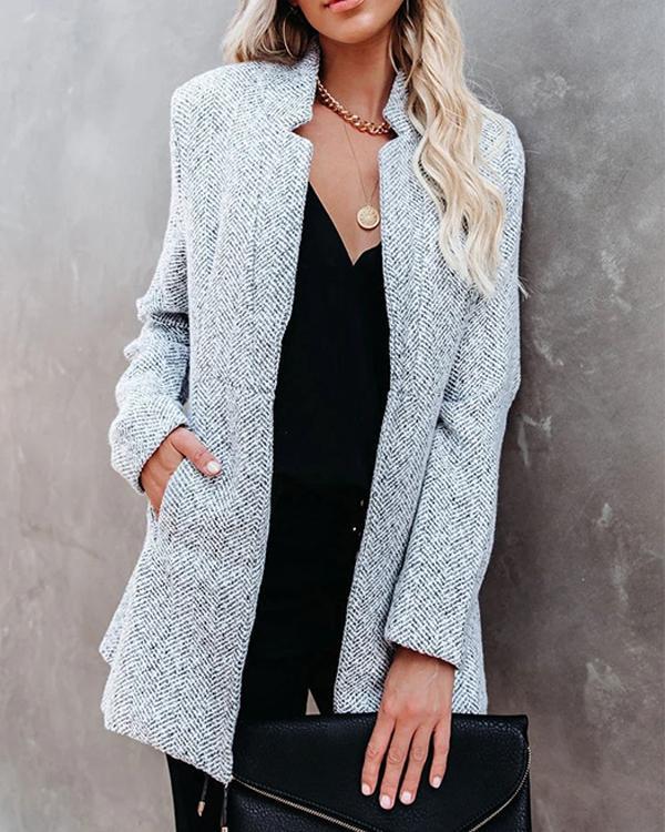 Women's Casual H-Line Fashion Coat