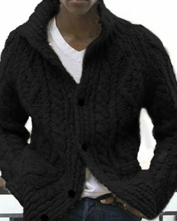Men's Casual  Winter Sweater Outerwear