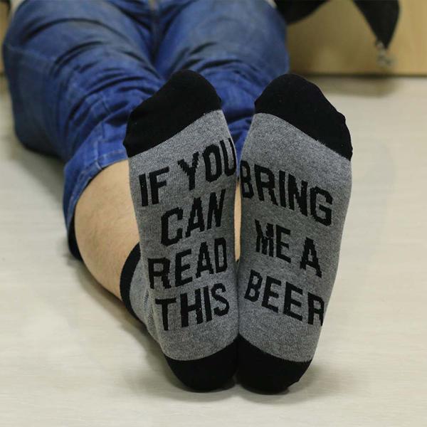 Men Women Print Socks